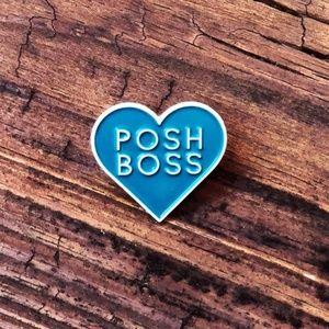 Posh Boss • Swag, Accessory, Lapel Pin, Brand New